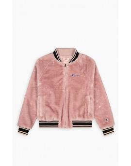 Champion Faux Fur Bomber Jacket