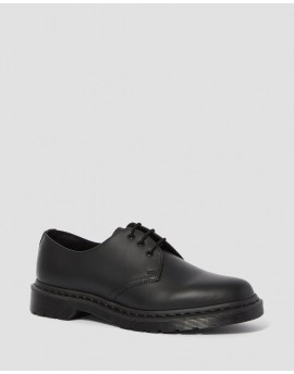 Dr Martens 1461 Mono Smooth Leather Shoes